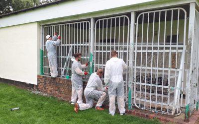 Nationwide Volunteers Help Stratton St Margaret Parish Council