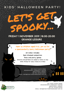 Kids' Halloween Party @ Grange Leisure