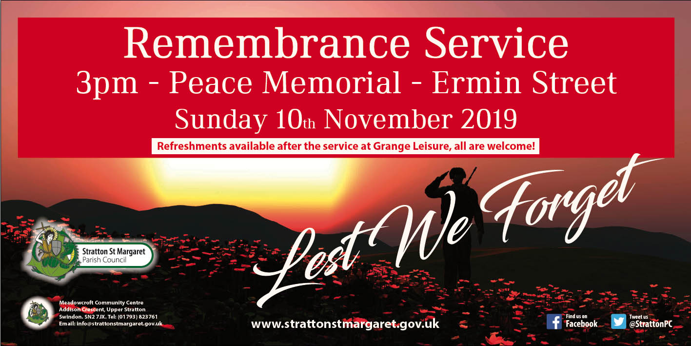 2019 Remembrance banner