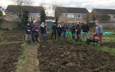 Volunteers from UKRI help Stratton St Margaret Parish Council