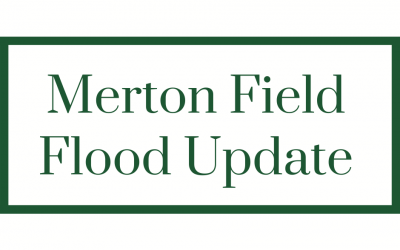 Merton Field Flood Update