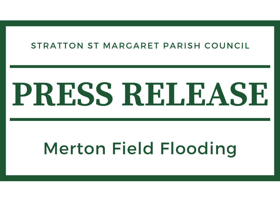 Press Release: Merton Field Flooding