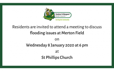 Merton Field Flooding Meeting