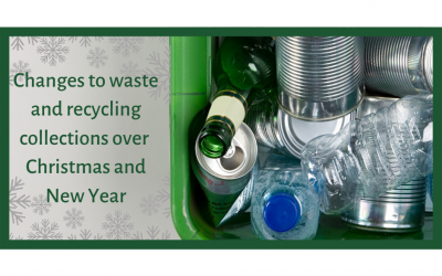 Changes to Waste and Recycling over Christmas and New Year