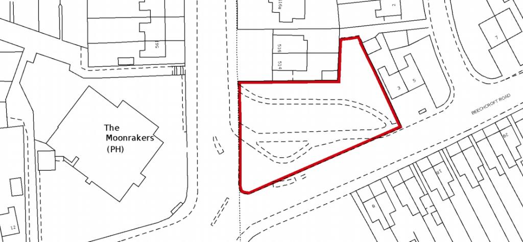 Land on Beechcroft Road, Swindon