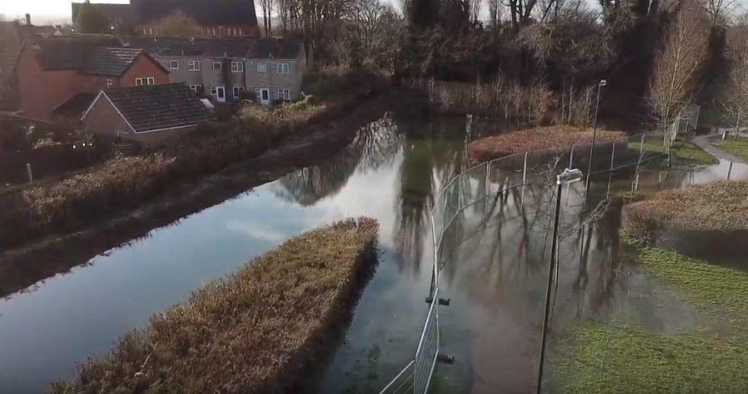 Stratton St Margaret Parish Council to tackle flooding at Merton Park
